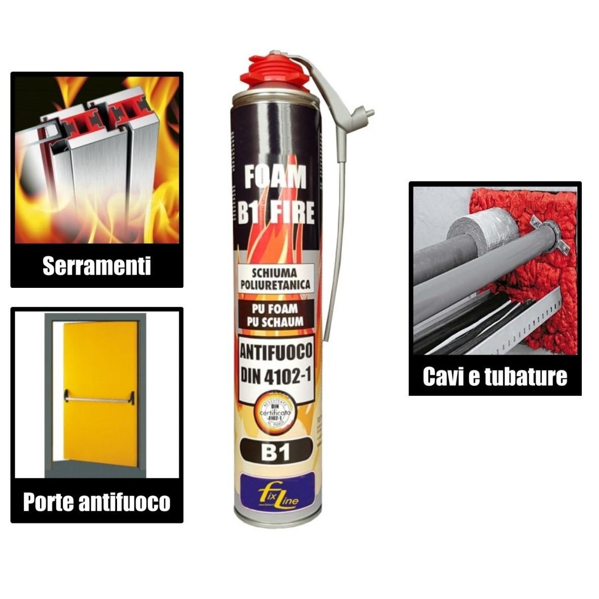 Schiuma poliuretanica per fuoco