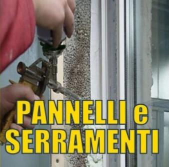 schiuma poliuretanica pannelli e serramenti porte finestre