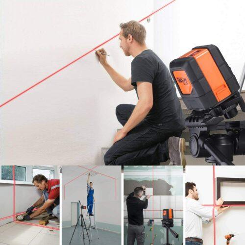laser autolivellante cartongesso drywall