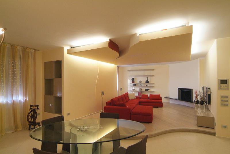 Idee Luci Soggiorno: Illuminazione soggiorno e salotto ...